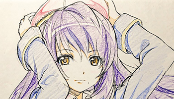 「LoveLive!」角色设计公开11年前园田海未未确定版角色绘图
