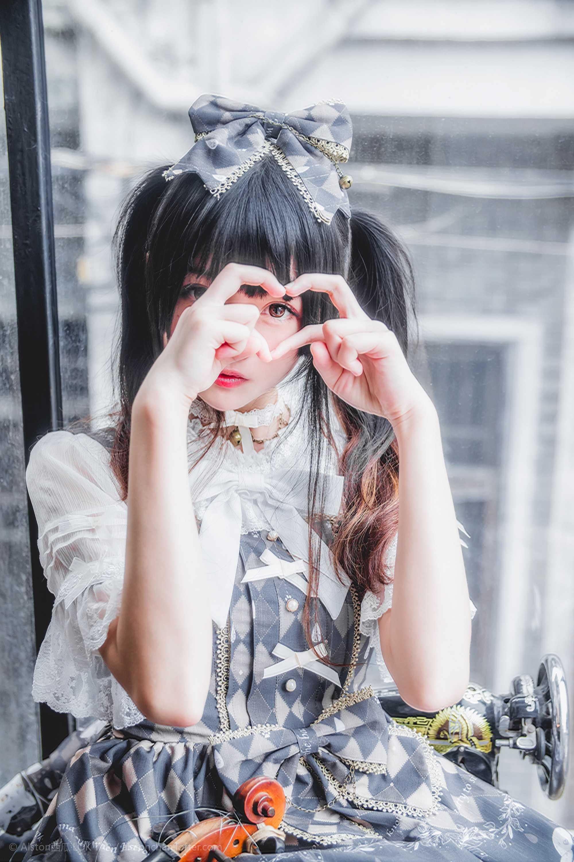 免费⭐微博红人⭐桜桃喵@写真cos-雨中的猫(桜桃喵)【10P】插图5
