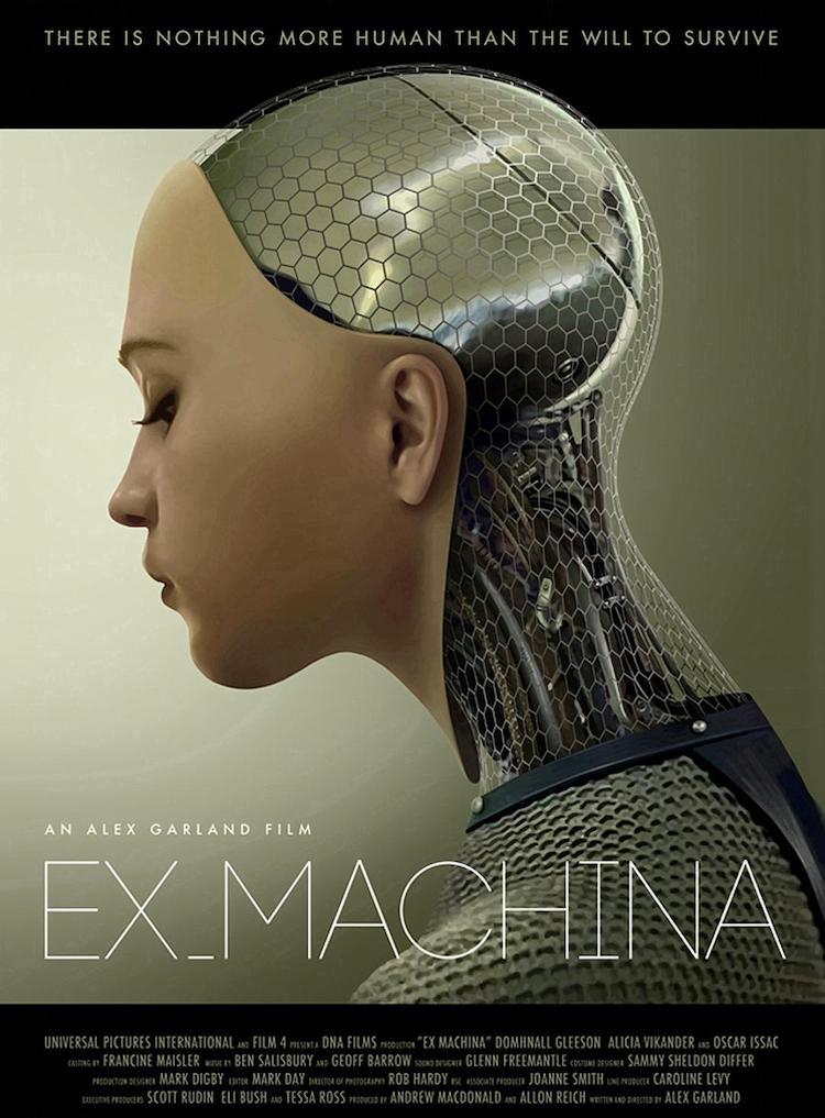 《机械姬》影评:当人工智能也有了秘密