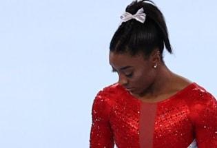"""东京奥运:美国体操名将西蒙·拜尔斯退赛——""""我要关注我的精神健康"""""""