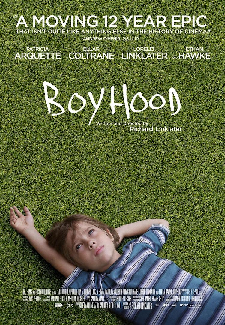 《少年时代》(Boyhood)电影评价,流淌的岁月之歌