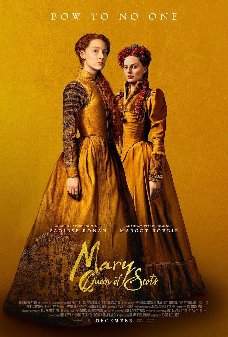 《玛丽女王》(Mary Queen of Scots)电影简评,不向任何人鞠躬-爱趣猫