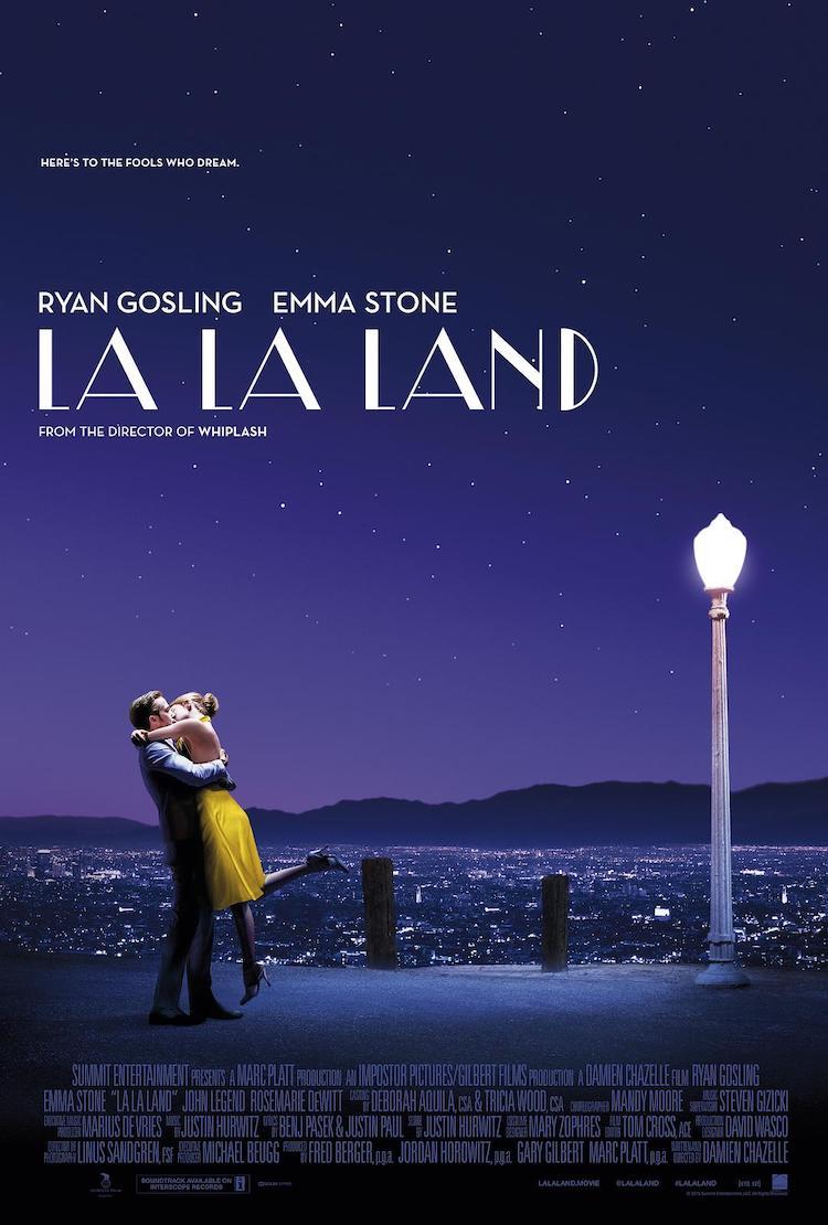 喜剧歌舞片《爱乐之城》(La La Land)影评,以热情浇灌梦田