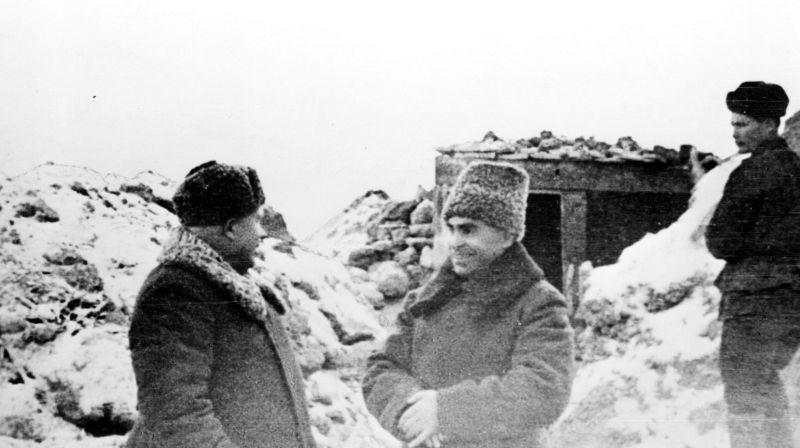 老照片:还只是一个不太出名的政委,二战中的赫鲁晓夫