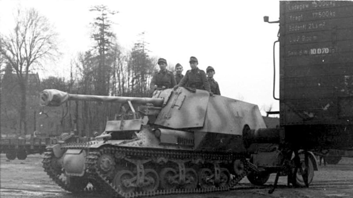 东拼西凑的猎手,二战德国黄鼠狼坦克歼击车全系列