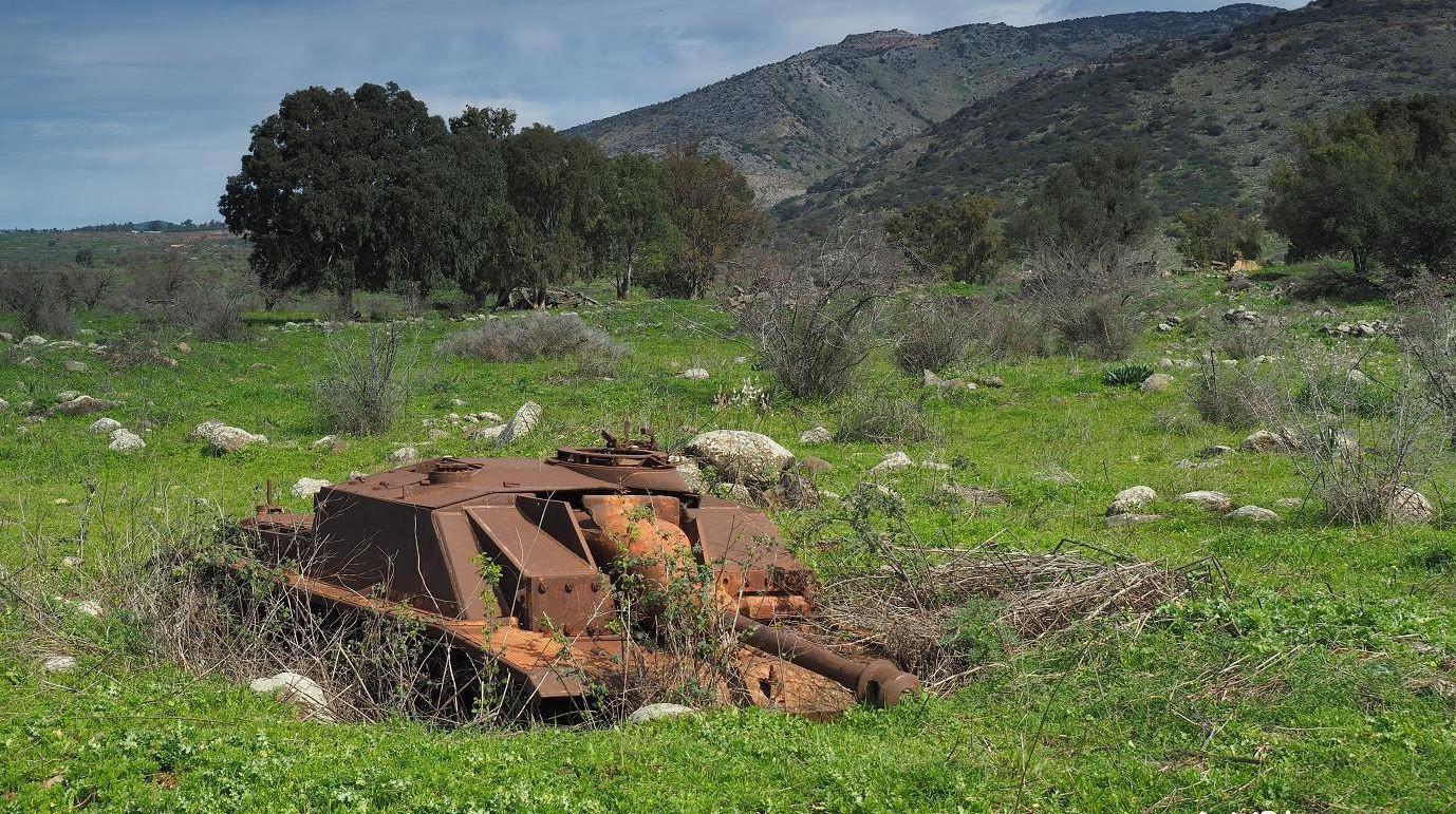沉睡的高地守护者,被遗忘在戈兰高地的三号突击炮