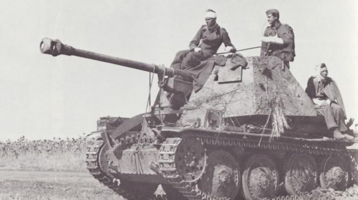 皮薄馅大的反坦克利器,二战战场上被打惨的各种黄鼠狼歼击车