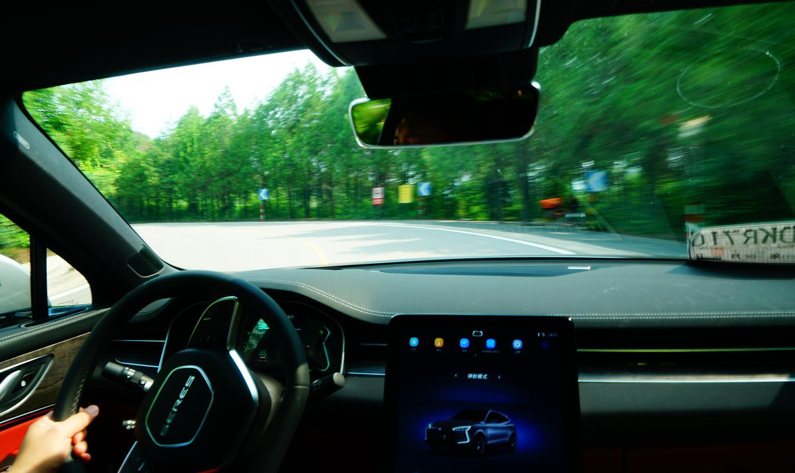 快評:賽力斯華為智選SF5不同模式行車充放電效率對比