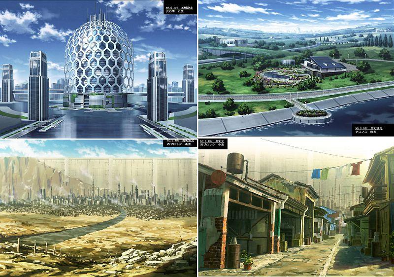 """如何评价动画《未来都市No.6》之城市关系:未来的乌托邦也要""""吸血"""",把人像垃圾一样倾倒"""