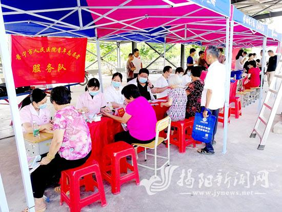 团普宁市委联合多家单位开展志愿服务活动