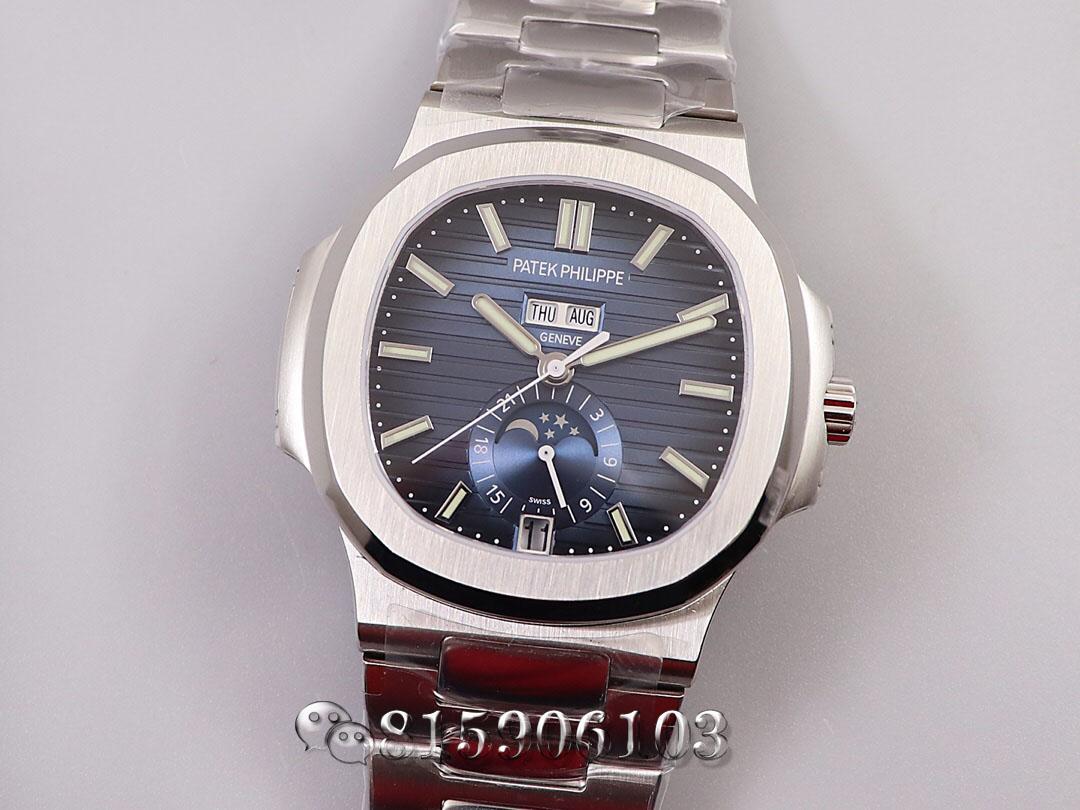 V9厂百达翡丽运动优雅5726年历腕表实拍测评
