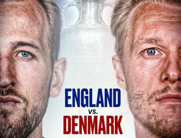 欧洲杯半决赛直播:英格兰vs丹麦 三狮军团实力浑厚,童话结局难上演!