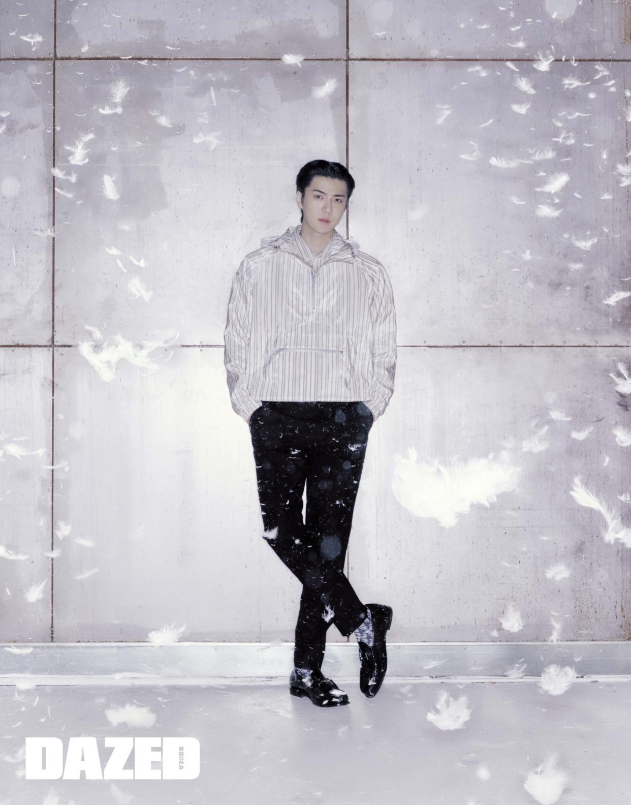 EXO吴世勋公开了自己作为艺人的现状 并讲述了自己的风格