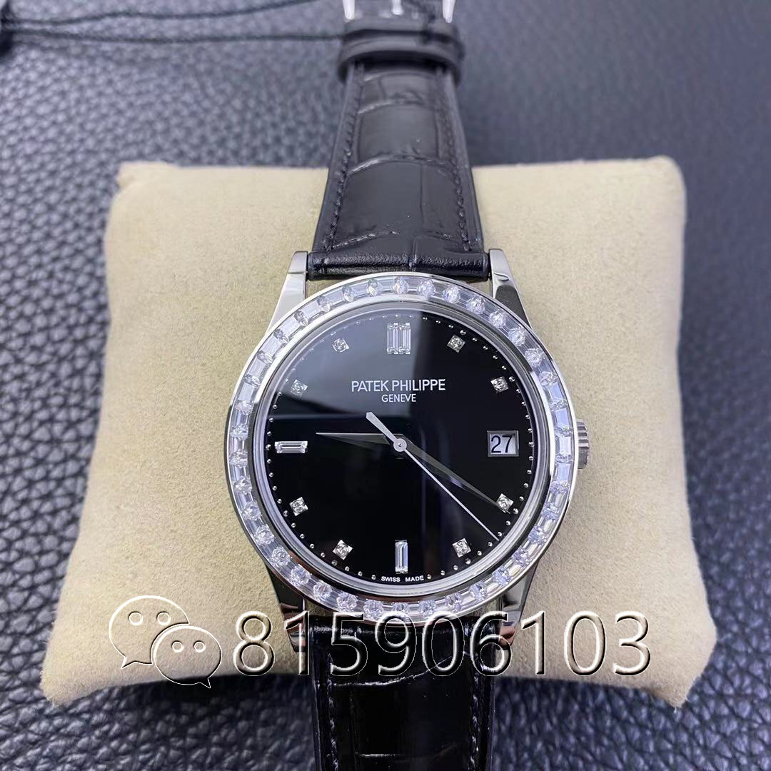 ZF厂百达翡丽古典5298镶钻腕表做工如何?