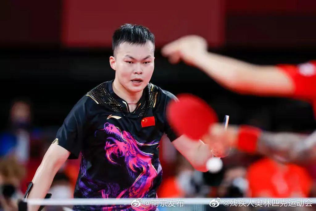 「残奥点将台」闫硕:南京95后小将荣获乒乓球男单冠军