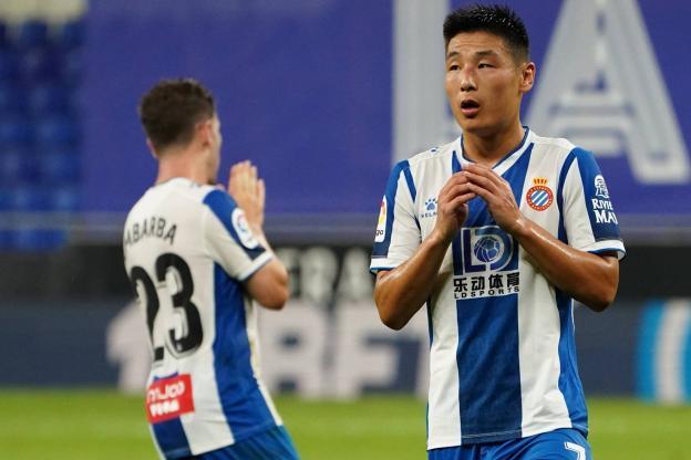 突发!西班牙人中国老板最快周末换帅,西媒:武磊连续2月替补