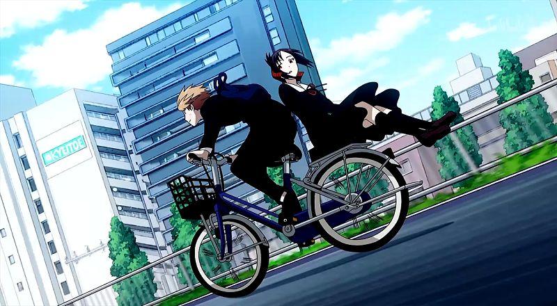 动漫盘点趣谈,骑扫把的姿势展现魔女实力,骑单车的姿势展现男女性情