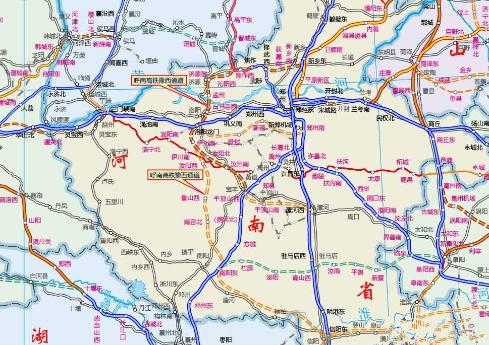 定了!平顶山又将新增一条高铁线,直达22个地市插图3