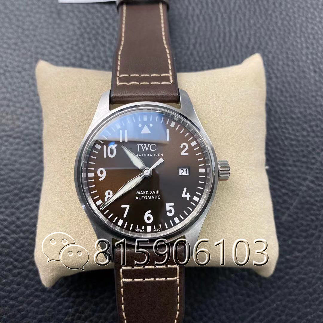MKS厂万国马克十八IW327003咖啡色腕表实图测评
