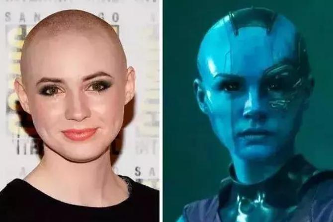 凯伦·吉兰透露,完成《雷神4》拍摄后,她如何度过没头发的时光