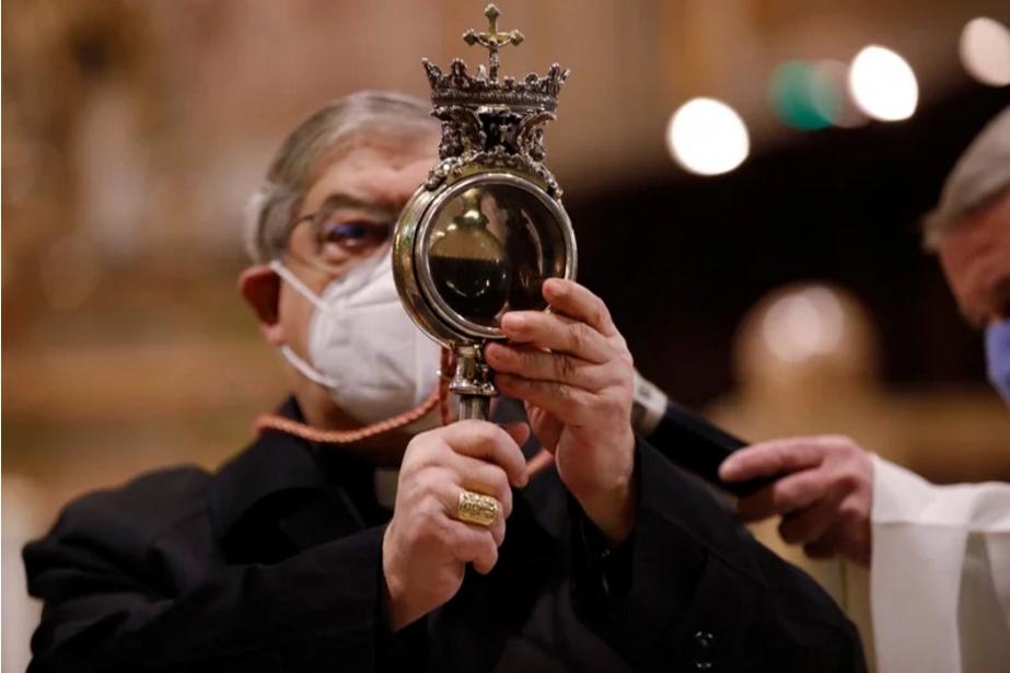 """那不勒斯圣血""""无法液化"""" 信徒担忧恐是来年恶兆"""