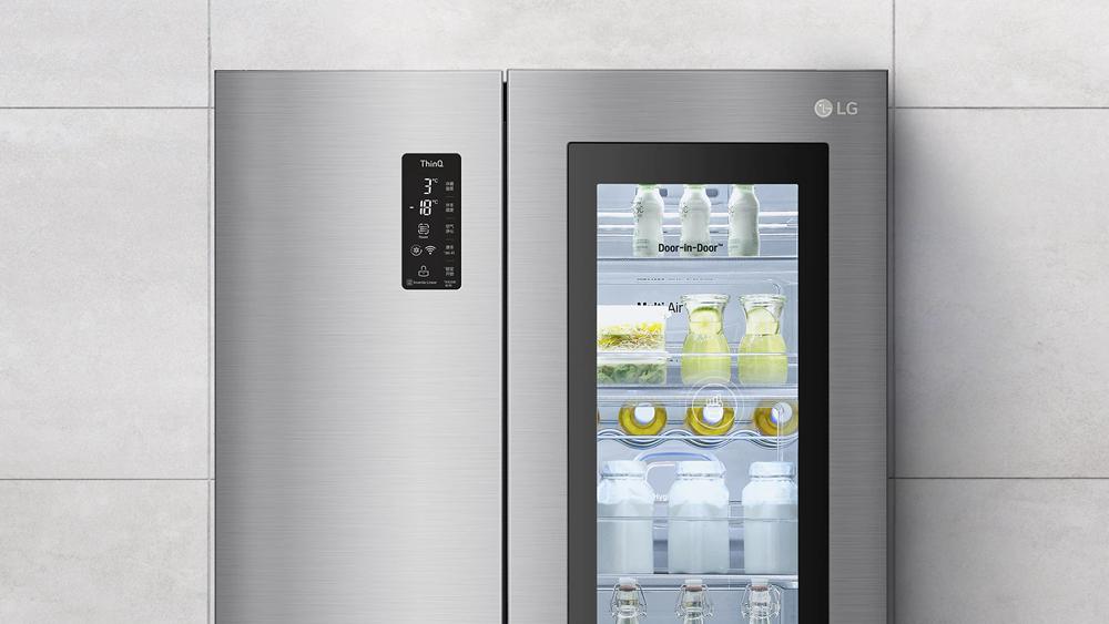 LG透视窗冰箱