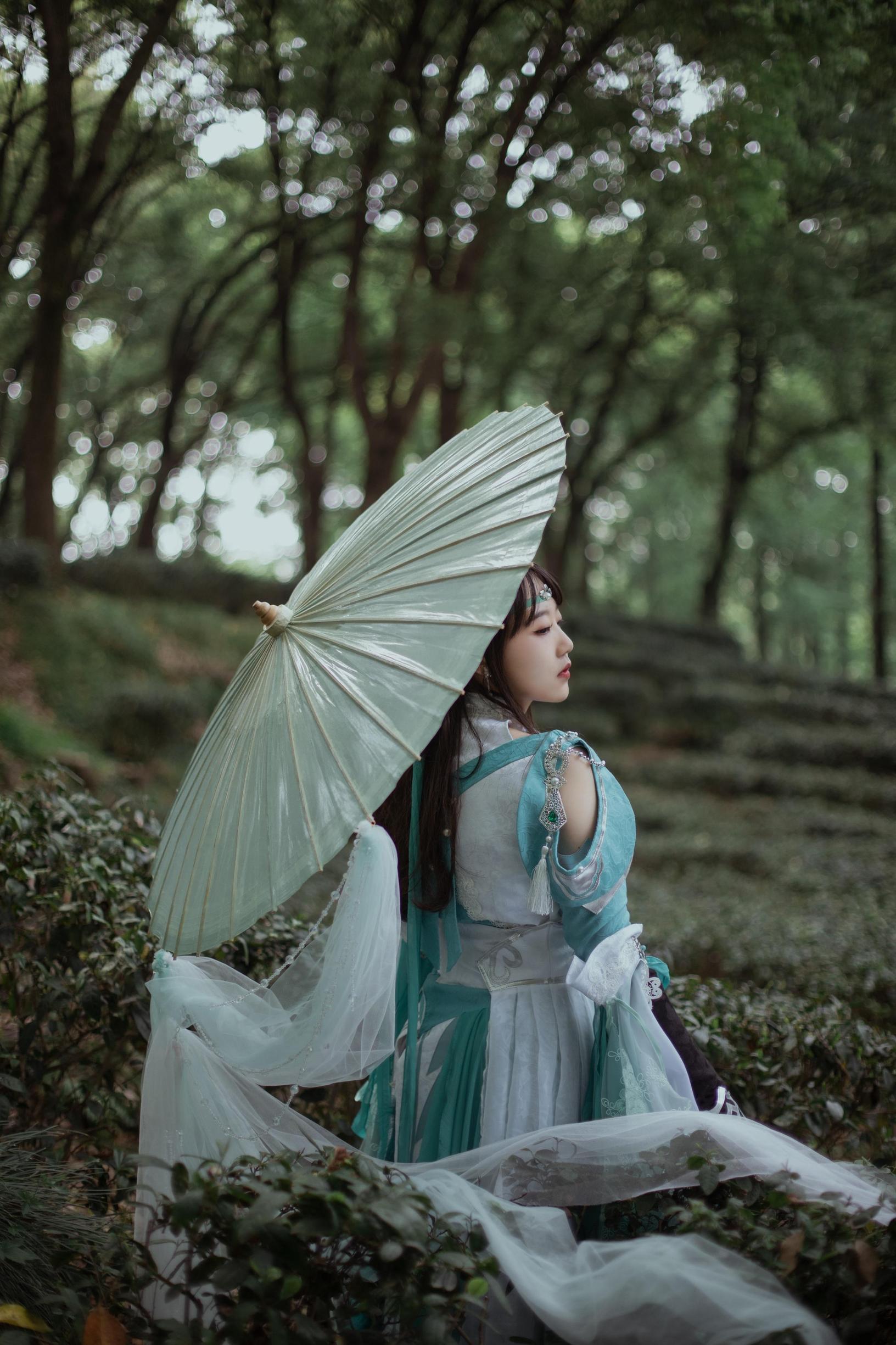 《剑侠情缘网络版叁》剑三cosplay【CN:柚子的维NI熊】-第8张
