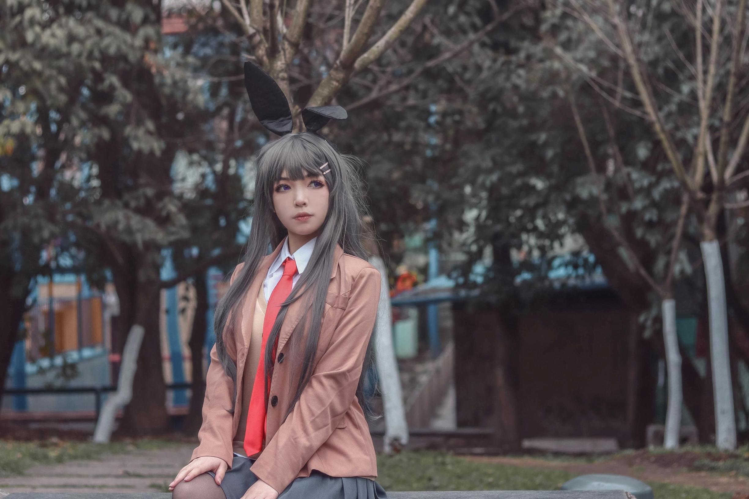 樱岛麻衣cosplay【CN:萝狐.维尔加德】 -cosplay动漫邪恶图片插图