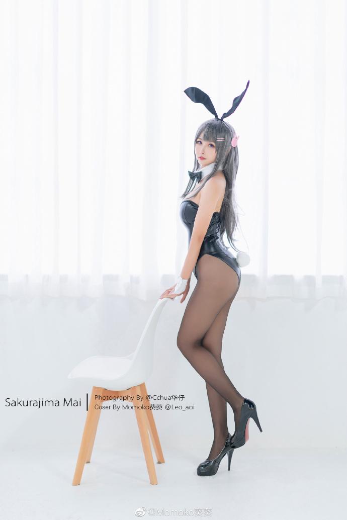 青春猪头少年不会梦到兔女郎学姐 樱岛麻衣cos Momoko葵葵 (9P)-第9张
