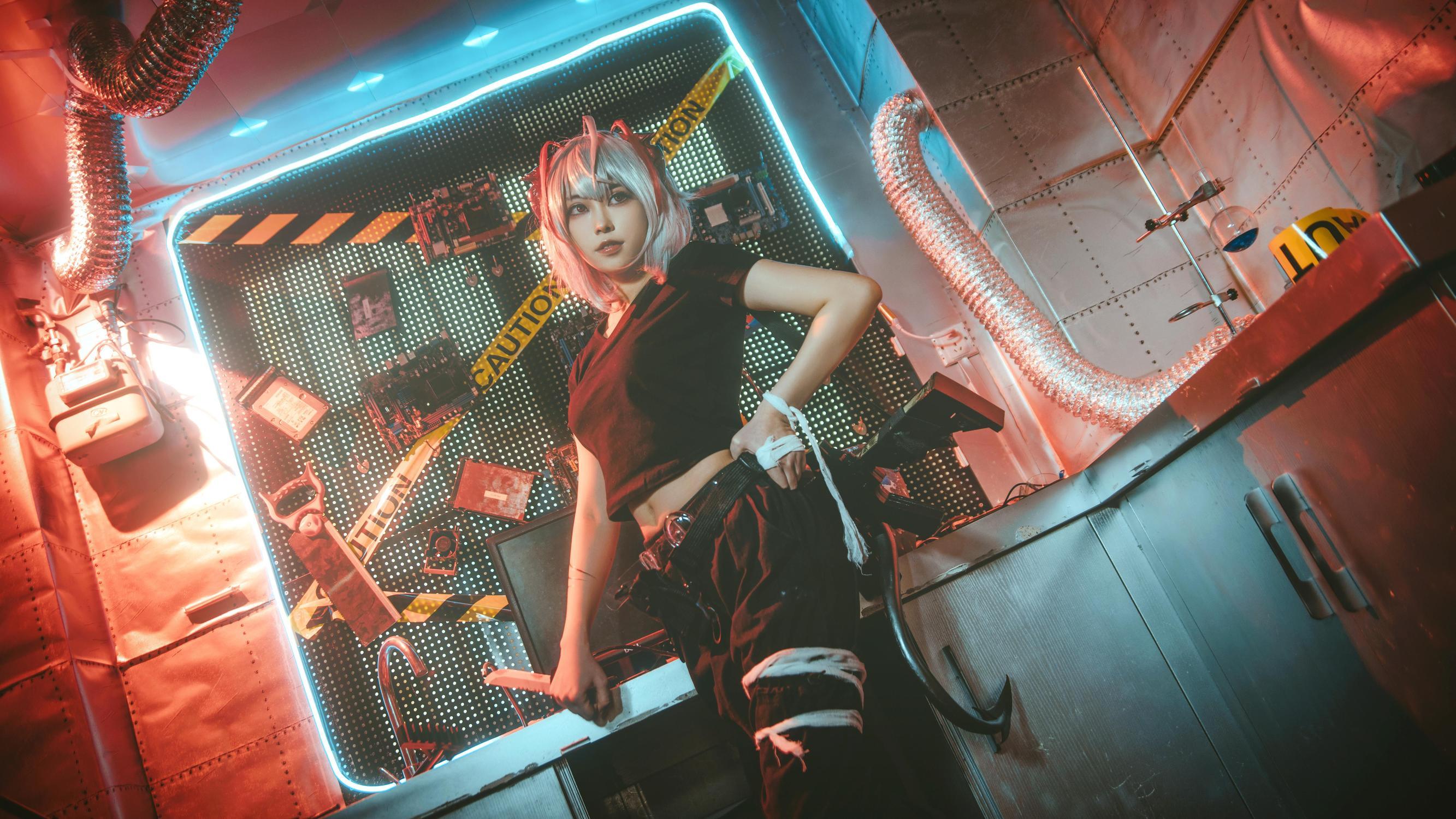 《明日方舟》游戏cosplay【CN:苍央鲤庭】-第8张
