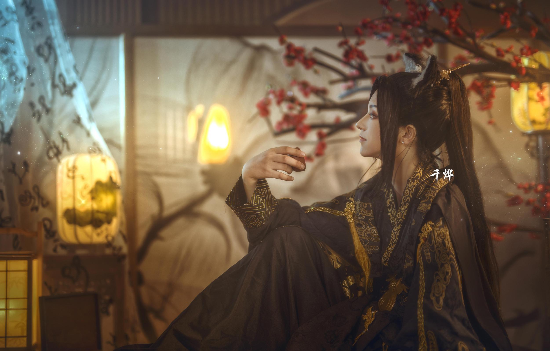 《二哈和他的白猫师尊》正片cosplay【CN:南渌Lin】-第8张