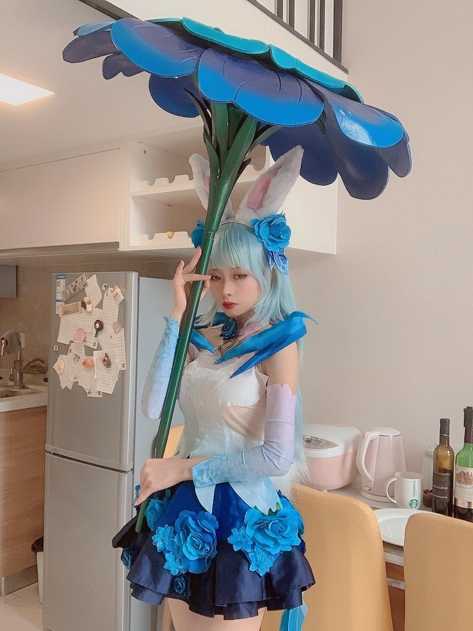 《王者荣耀》花间舞cosplay【CN:是御兔不是玉兔】 -美女图片cosplaycf插图