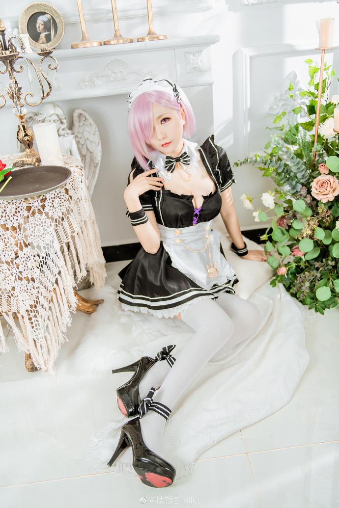 [COS]FGO   玛修·基列莱特   @楼银Emilia (9P) -cosplay模板摄影图片插图
