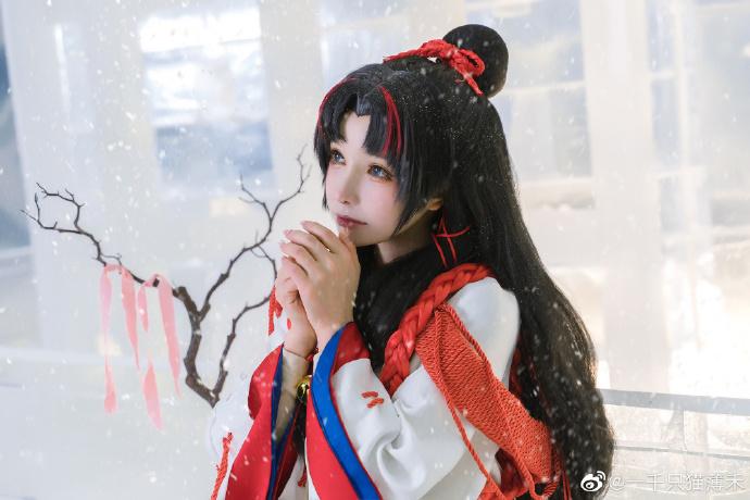[COS]阴阳师   缘结神   @一千只猫薄禾 (9P) -儿童cosplay服装图片大全插图