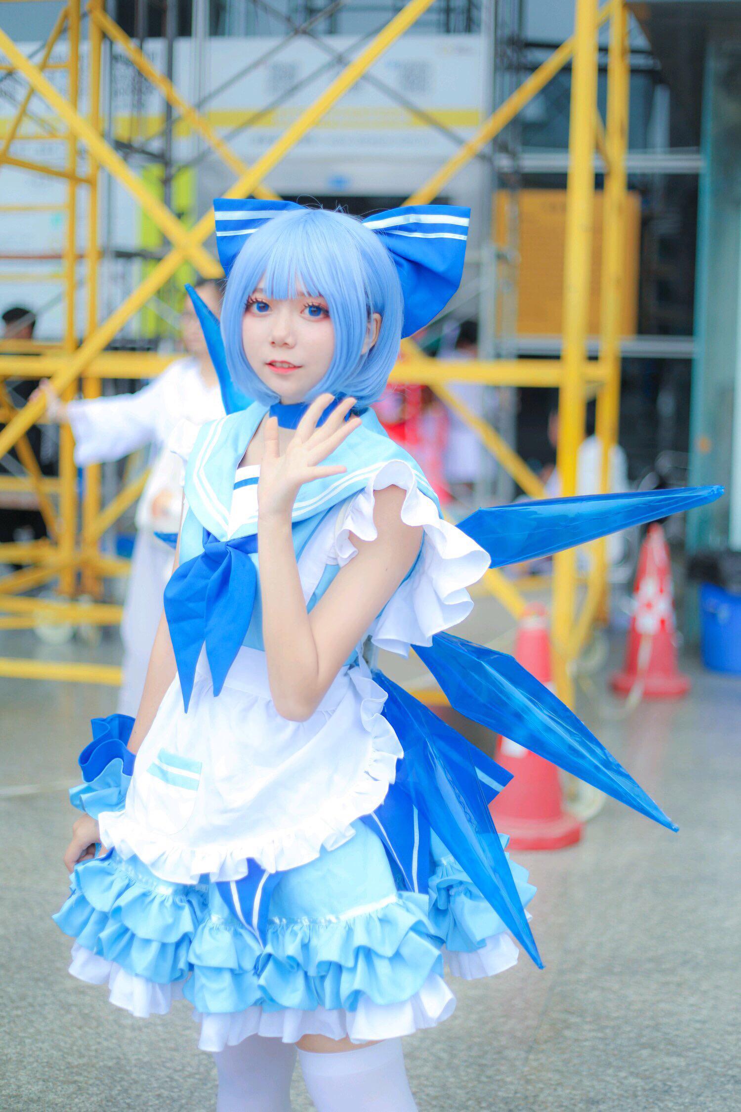 《东方PROJECT》女仆cosplay【CN:森祁w】-第3张