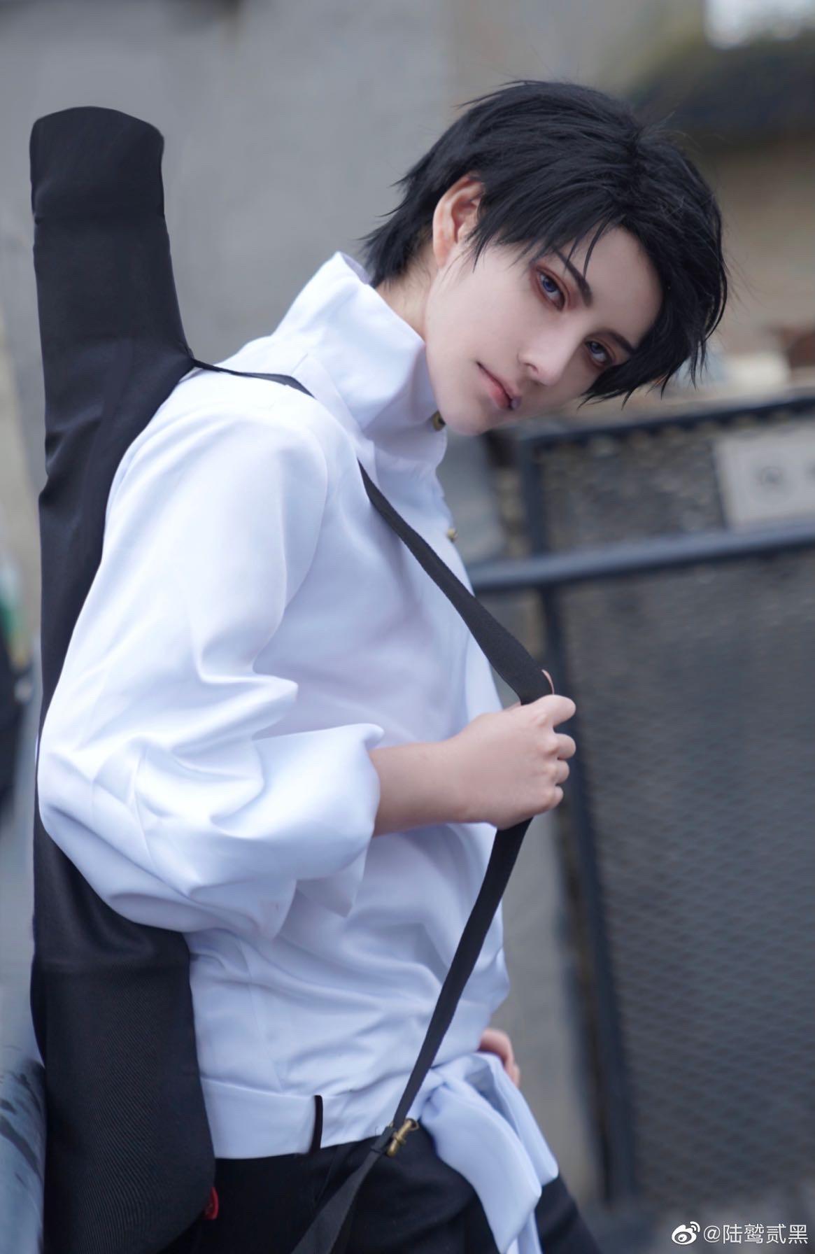 《咒术回战》陆鹫贰黑cosplay-第5张