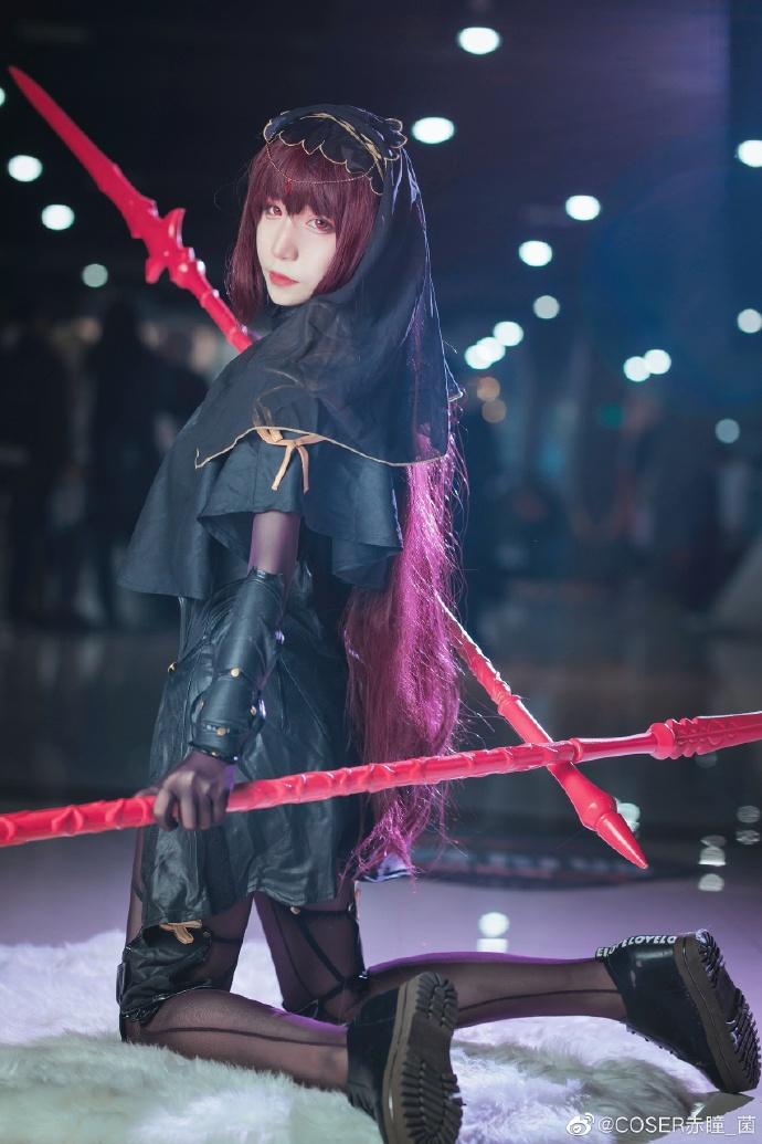 Fate/Grand Order   斯卡哈   @COSER赤瞳_菌 (9P)-第4张
