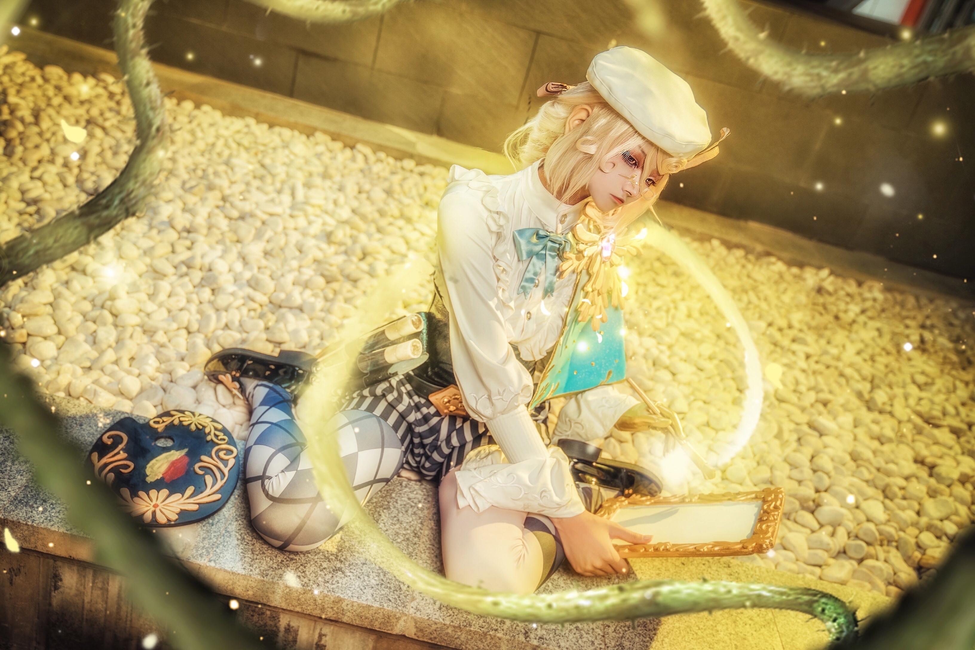 《第五人格》画家cosplay【CN:此时一把靓伞飞过】 -魔道祖师cosplay服装图片插图