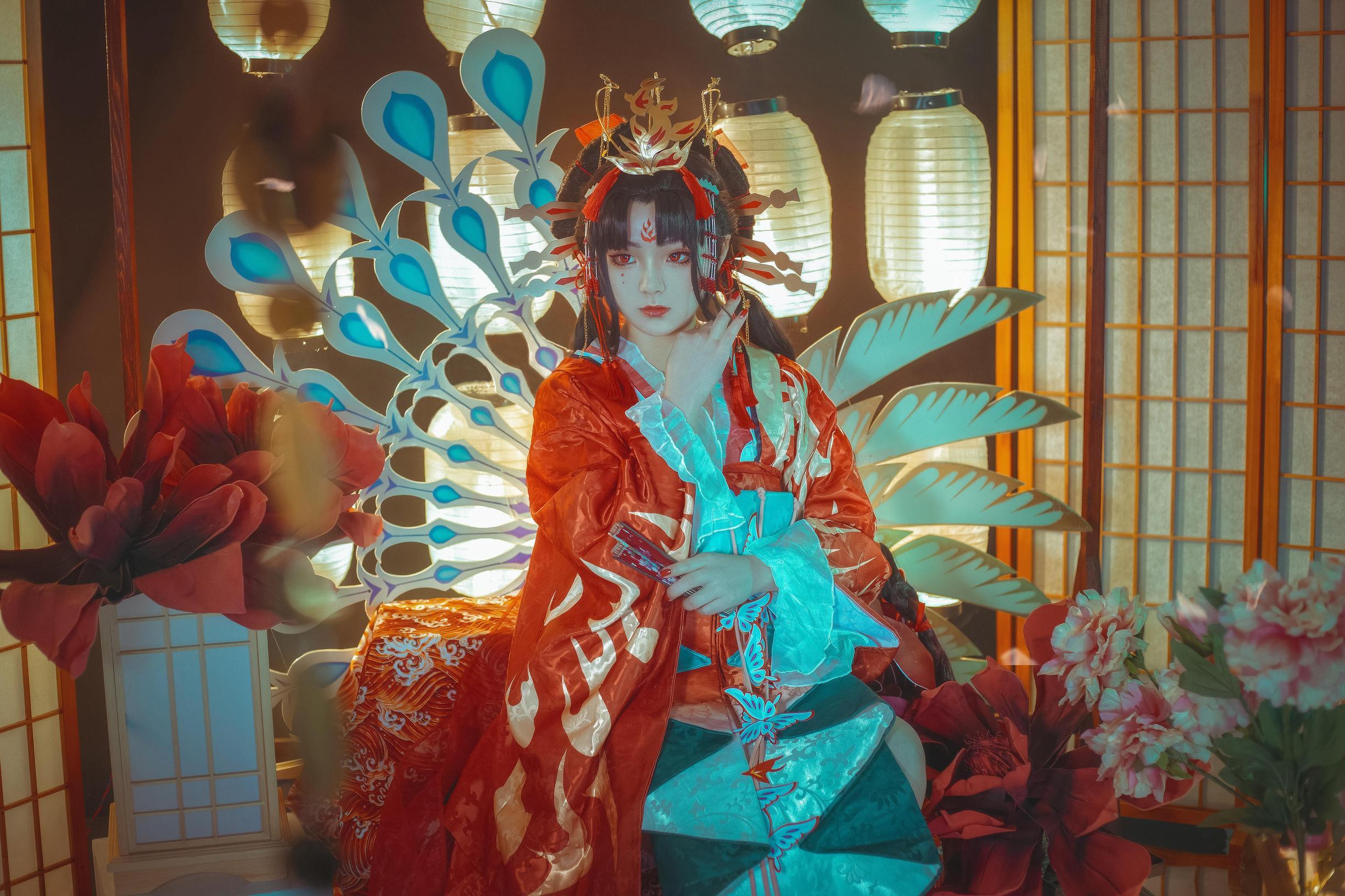 阴阳师cosplay【CN:箜篌Rainco】-第3张