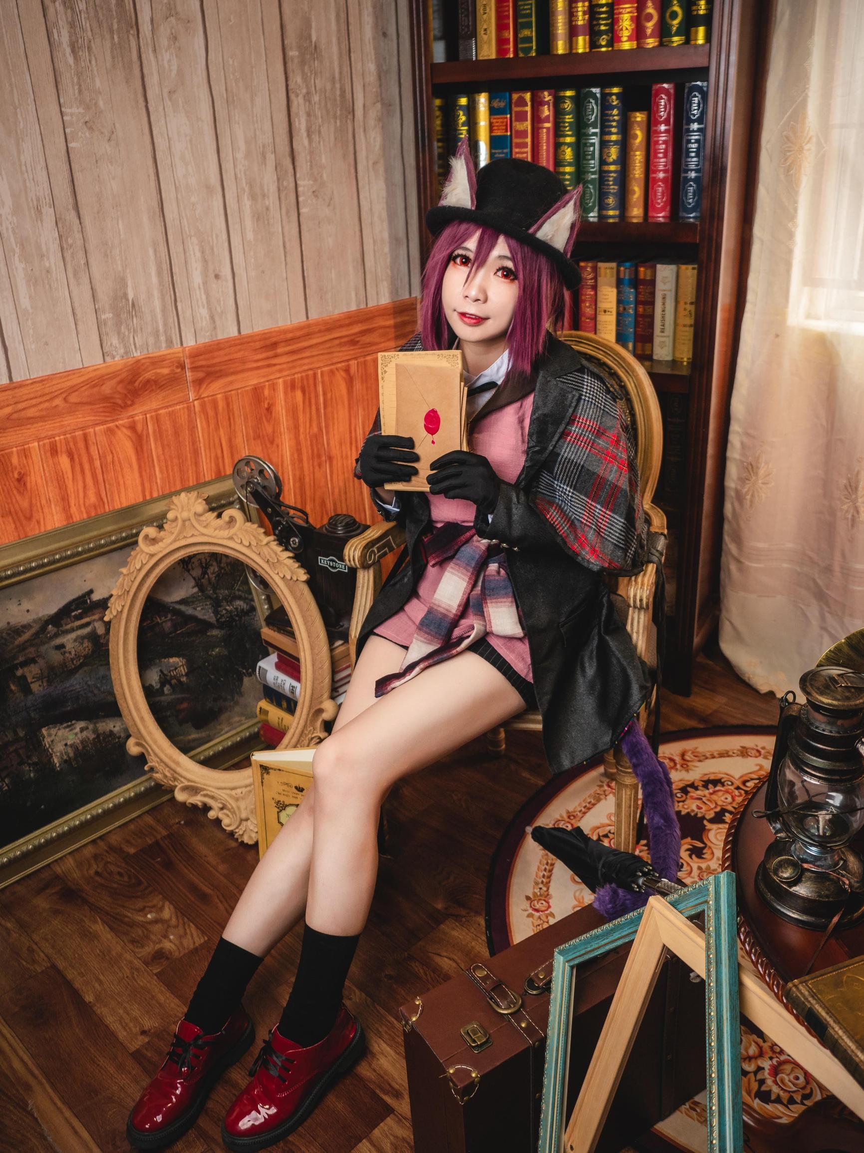 《明日方舟》剑圣cosplay【CN:海鲜君】-第1张