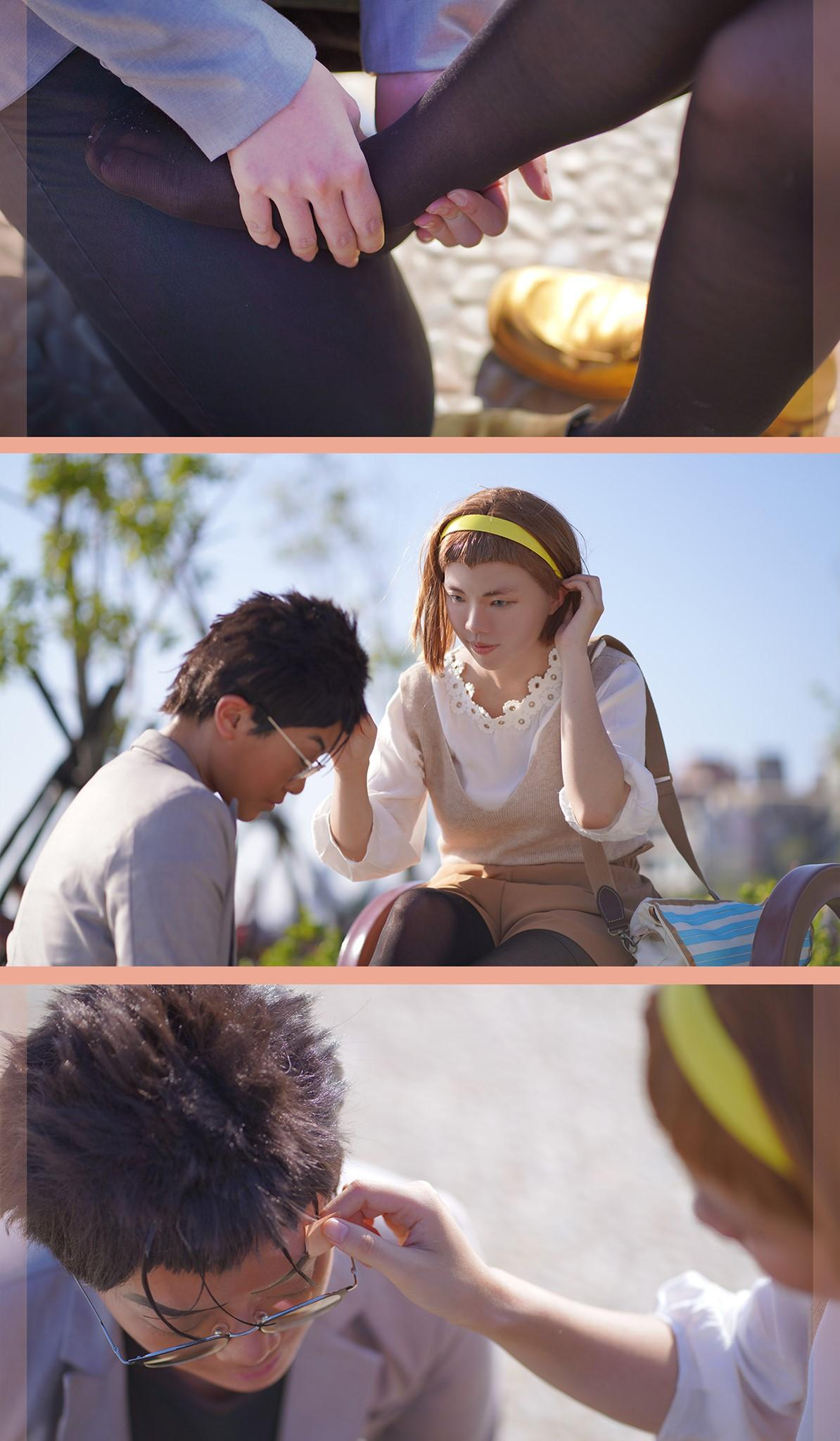 《名侦探柯南》正片cosplay【CN:婧爺_兇殘老人】 -万圣节cosplay服装图片插图