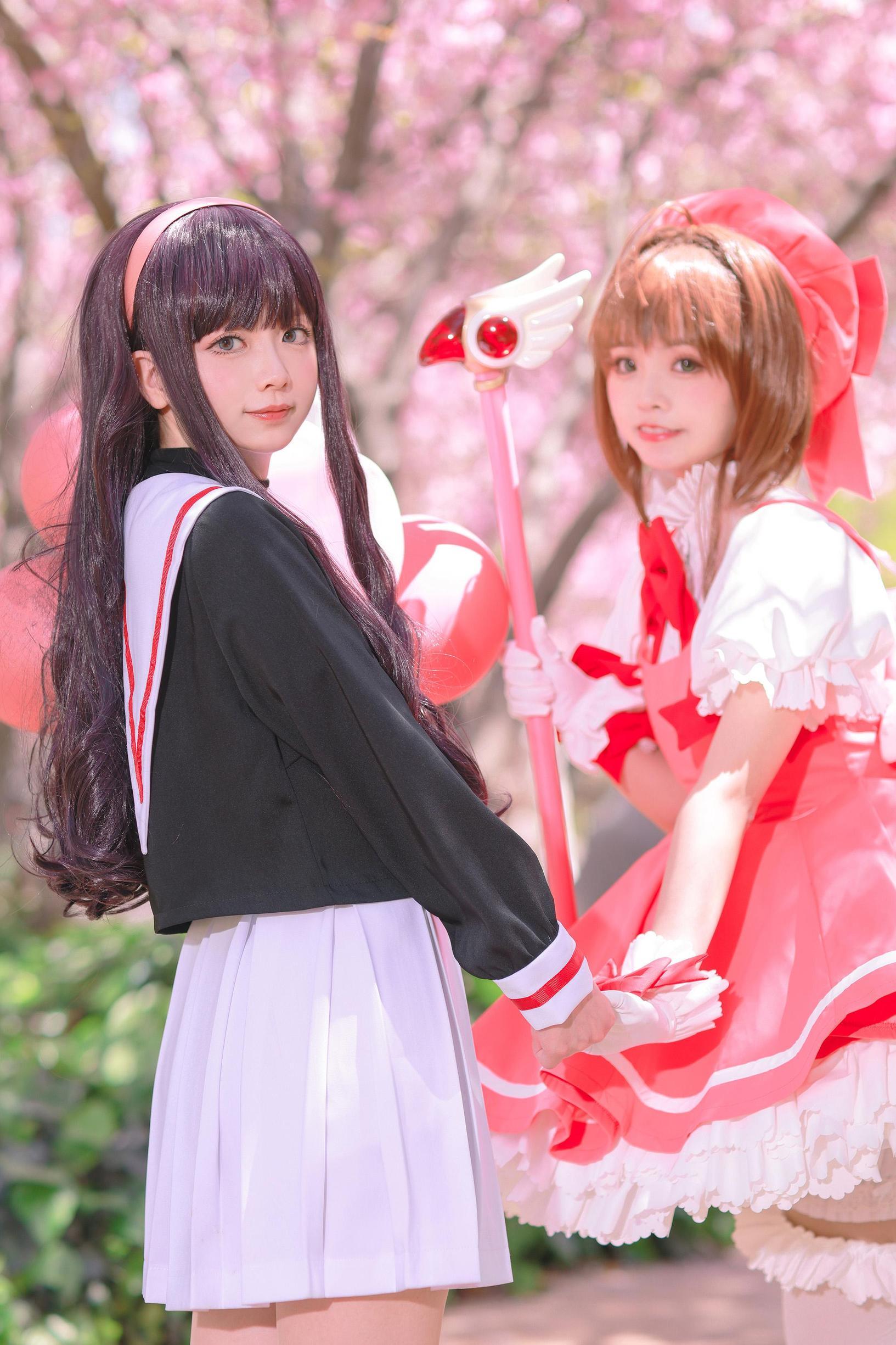 《魔卡少女樱》百变小樱cosplay【CN:萌玘】-第28张