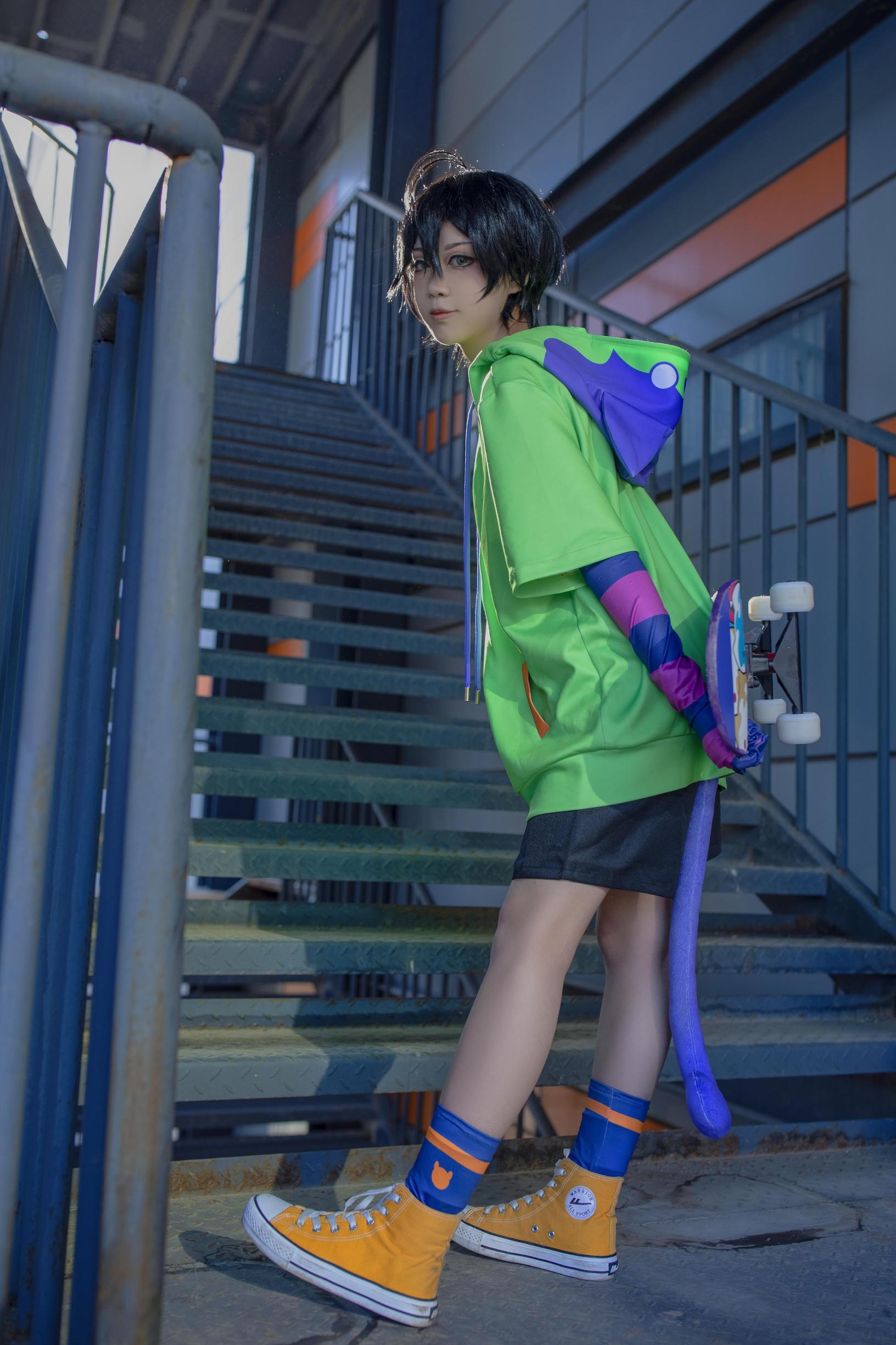 《无限滑板》正片cosplay【CN:摩多摩多柑橘】 -cosplay衣服女图片插图