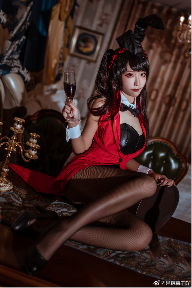 [COS]约会大作战   时崎狂三   兔女郎   @是粽粽子吖 (9P) -cosplay惊艳古风图片插图