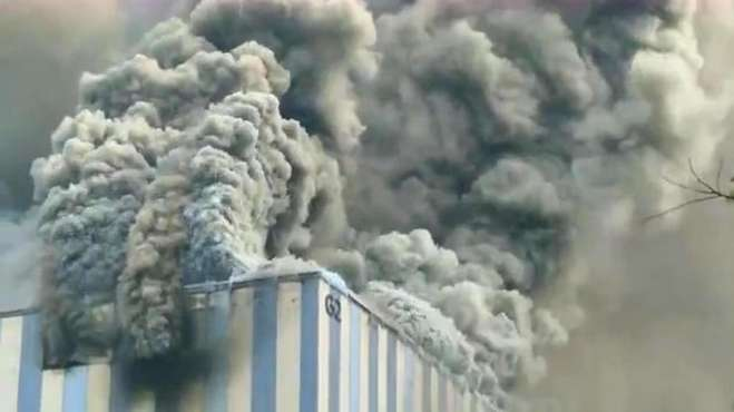 官方称华为起火建筑与实验室无关
