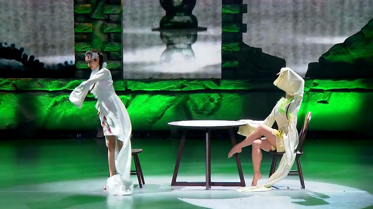中国好舞蹈:金星团队学员上好舞蹈,表演双人舞邮路,惊艳全场