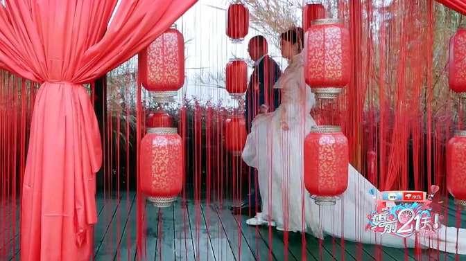 刘泳希新婚当天,身上的婚纱暴露身份!网友:富二代啊