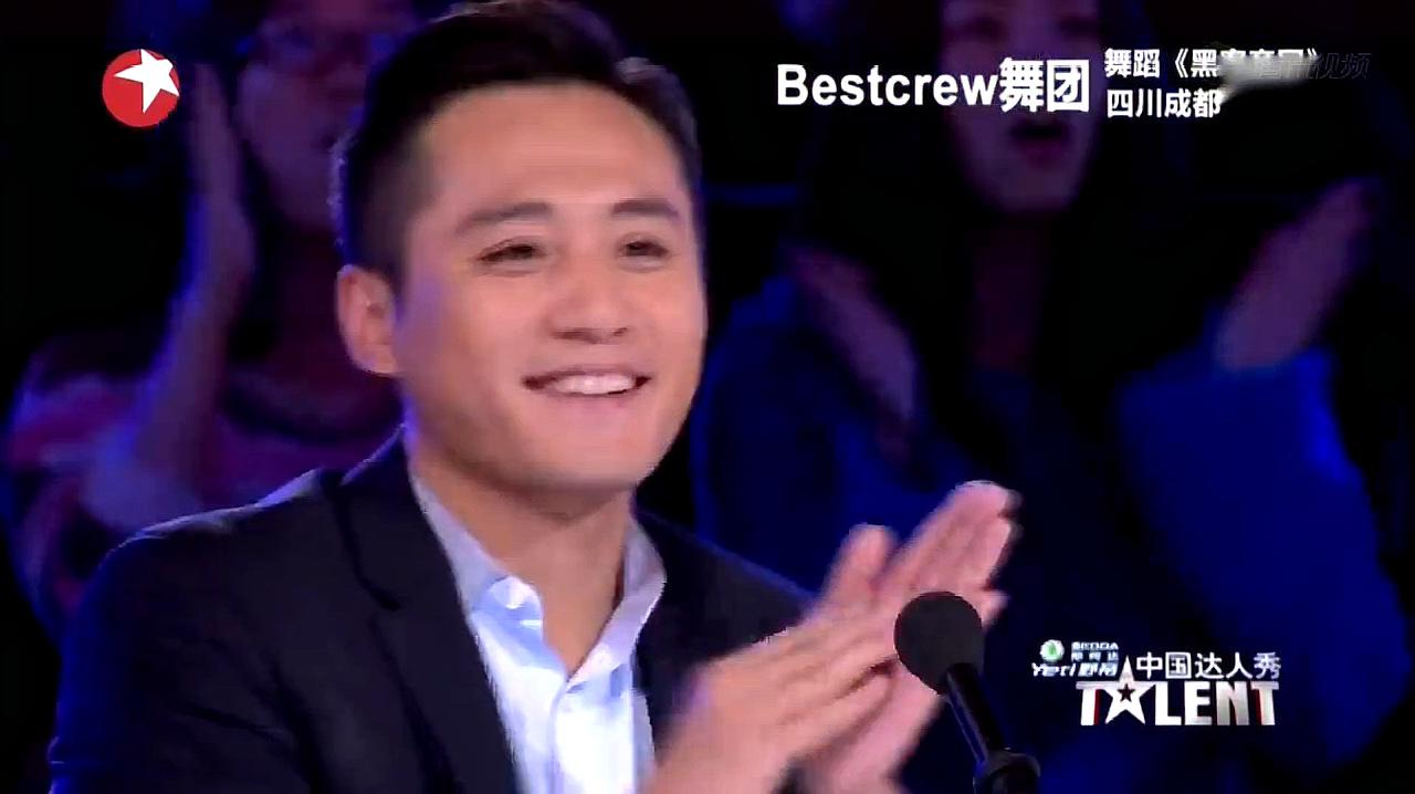 中国达人秀:成都吊丝舞团上达人秀,表演精彩街舞,逗乐刘烨