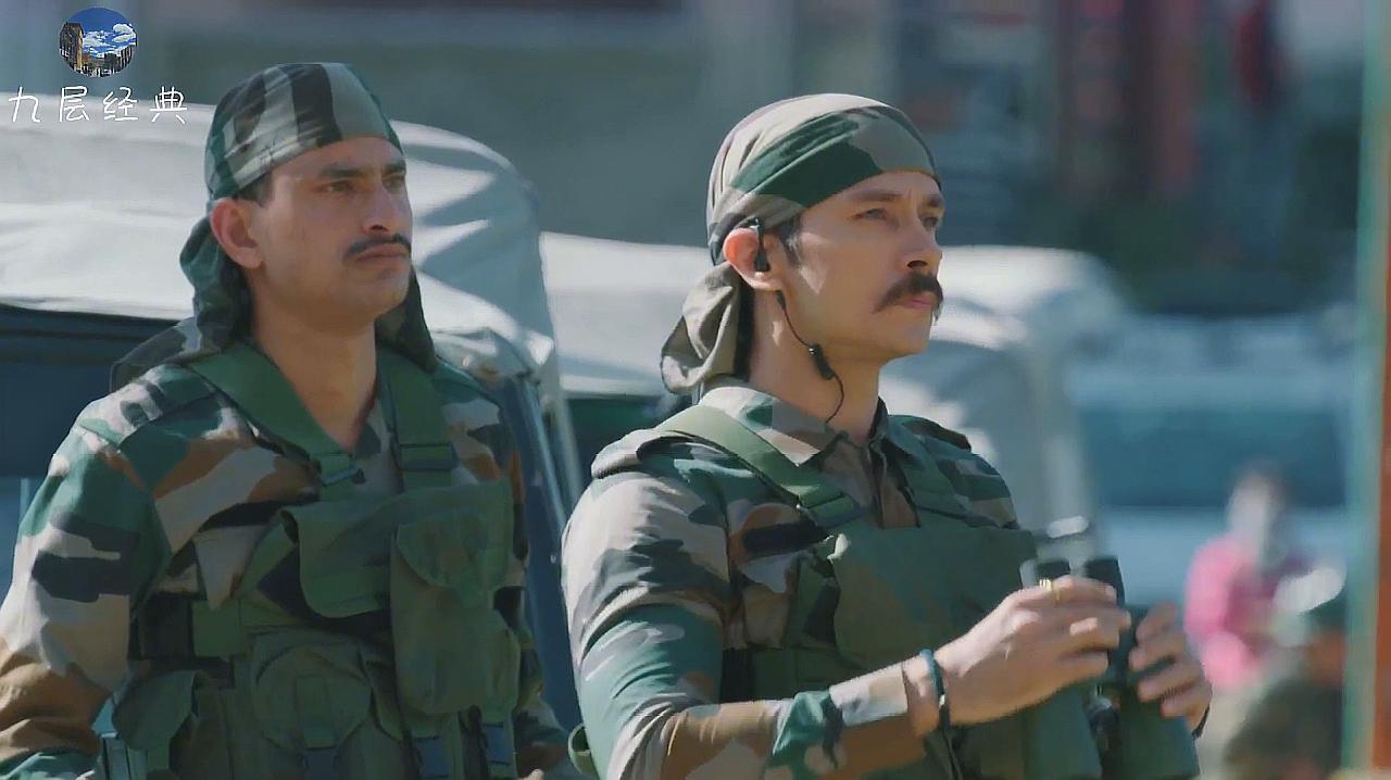 2020最新现代战争片 陆军行动队包围暴徒 对方玩命进行抵抗