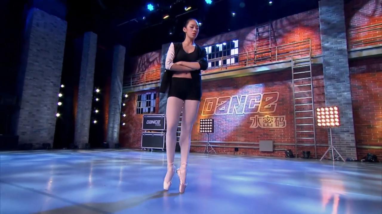 中国好舞蹈:贵州女孩上好舞蹈,表演创意芭蕾,令黄豆豆惊奇